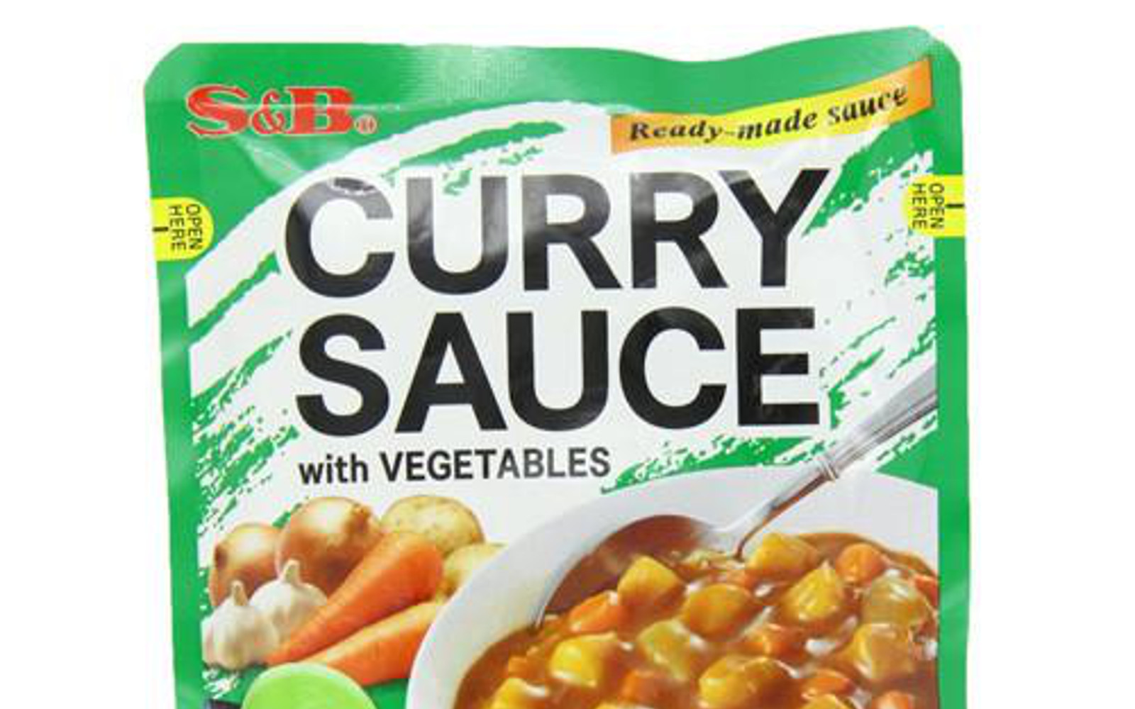 S&B Curry Sauce With Vegetables