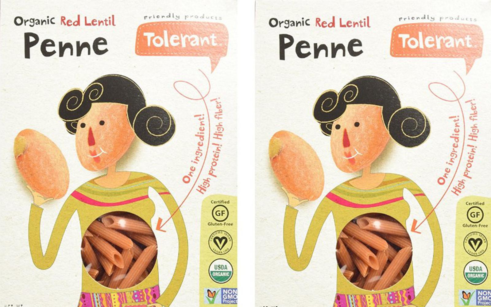 Tolerant Red Lentil Penne