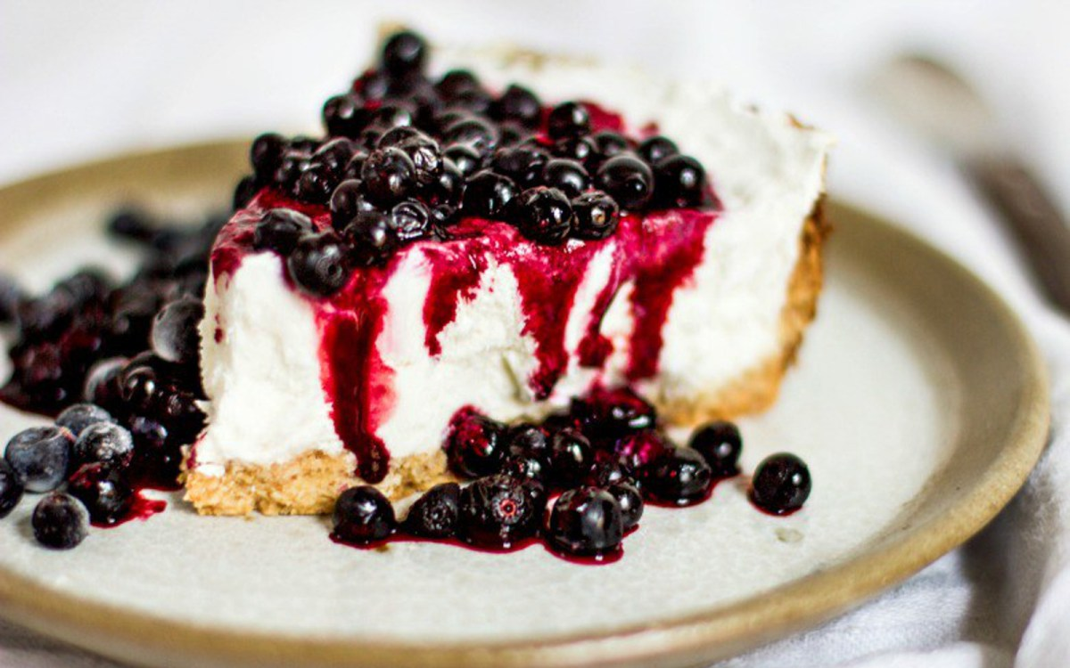 White Millet Cheesecake