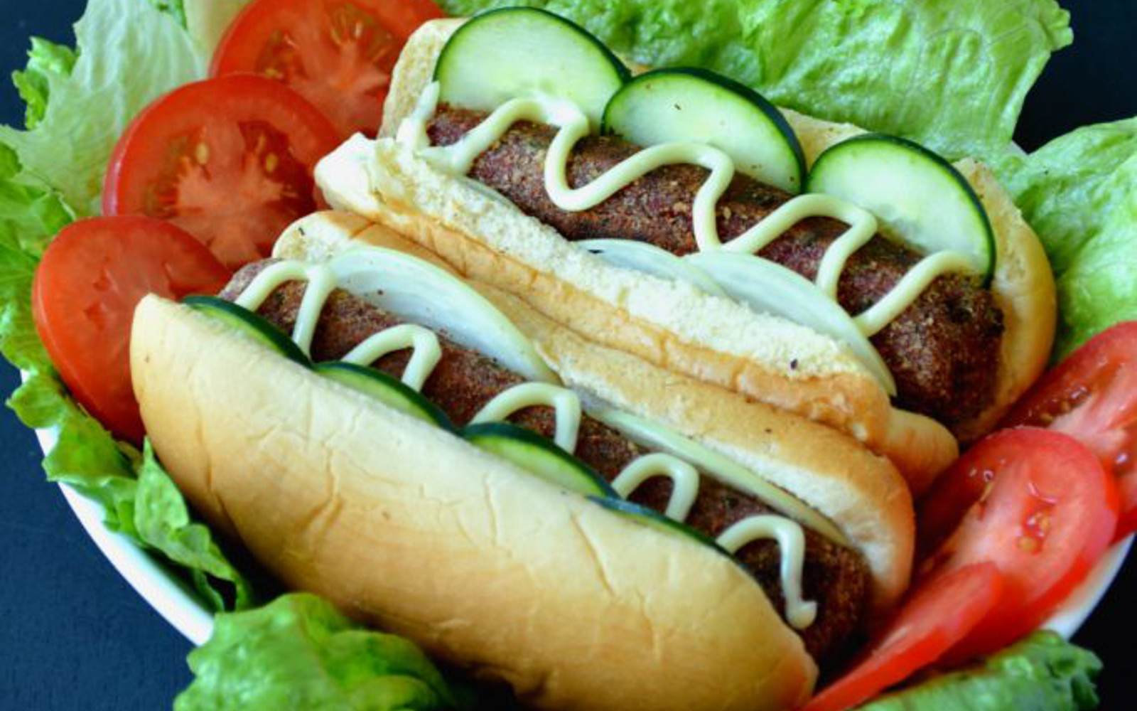 spicy veggie dogs