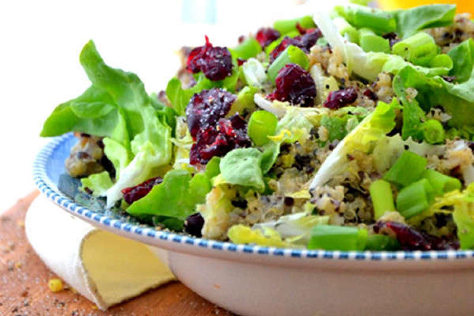 Recipe: Quinoa Salad with Caesar Dressing
