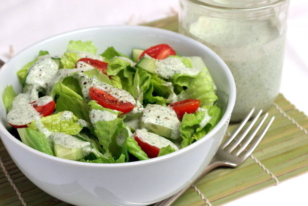 Creamy Lemon Herb Dressing