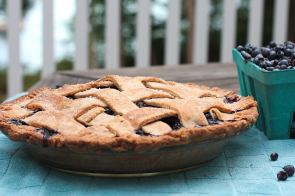 Blueberry Pie With a Heart-Healthy Crust