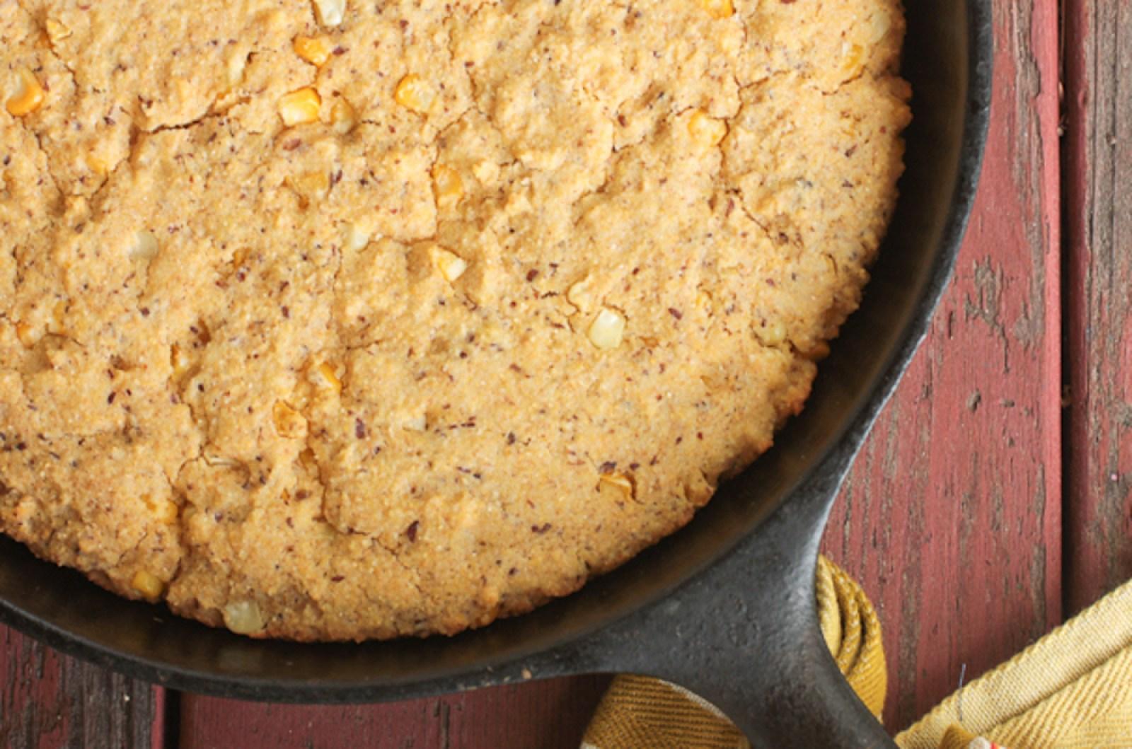vegan Whole-Grain Vegan Cornbread