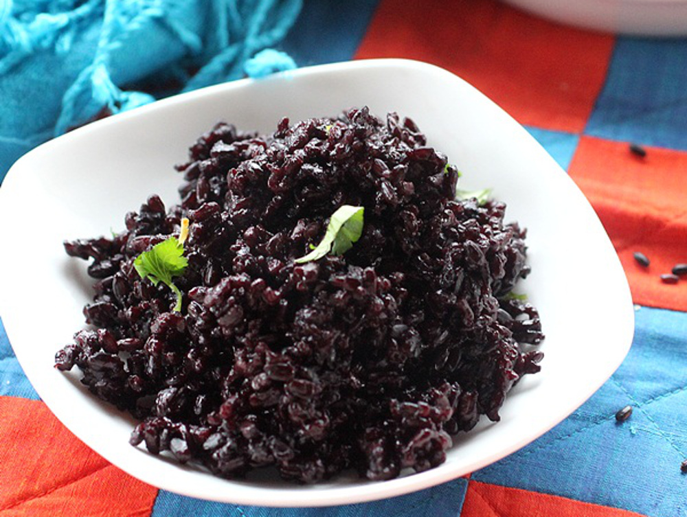 Forbidden Black Rice With Ginger and Coconut [Vegan] - One ...