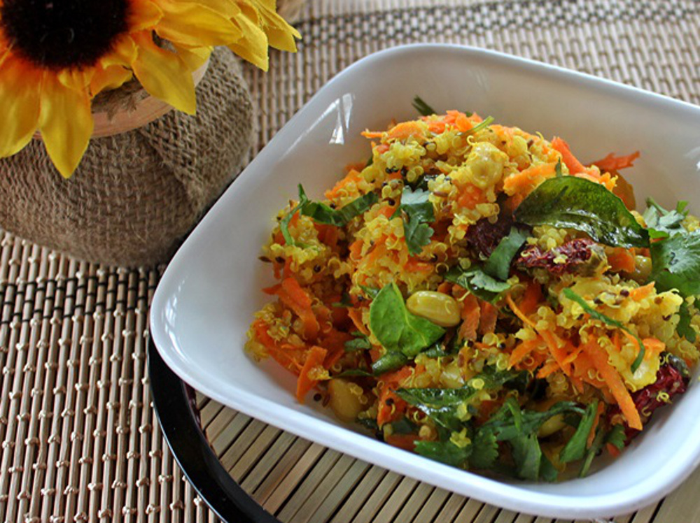 Indian lime and peanut quinoa vegan one green planet forumfinder Images