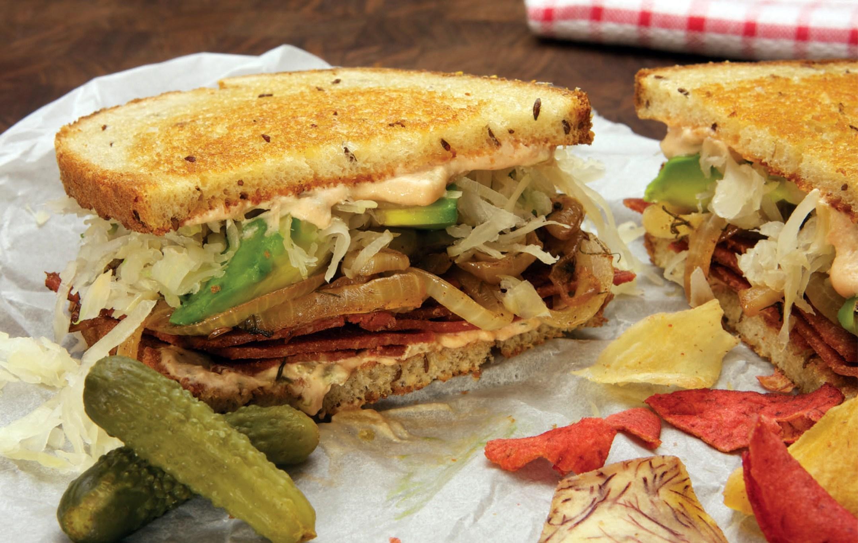 mayim-bialiks-vegan-reuben-sandwich