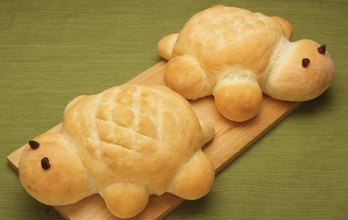 10 vegan recipes your kids will love one green planet for Fish shaped bread