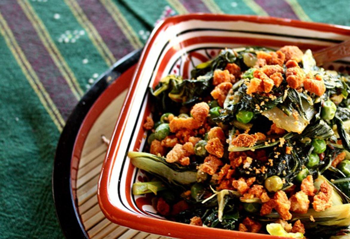 Stir fried crunchy bengali bok choy vegan one green planet forumfinder Image collections
