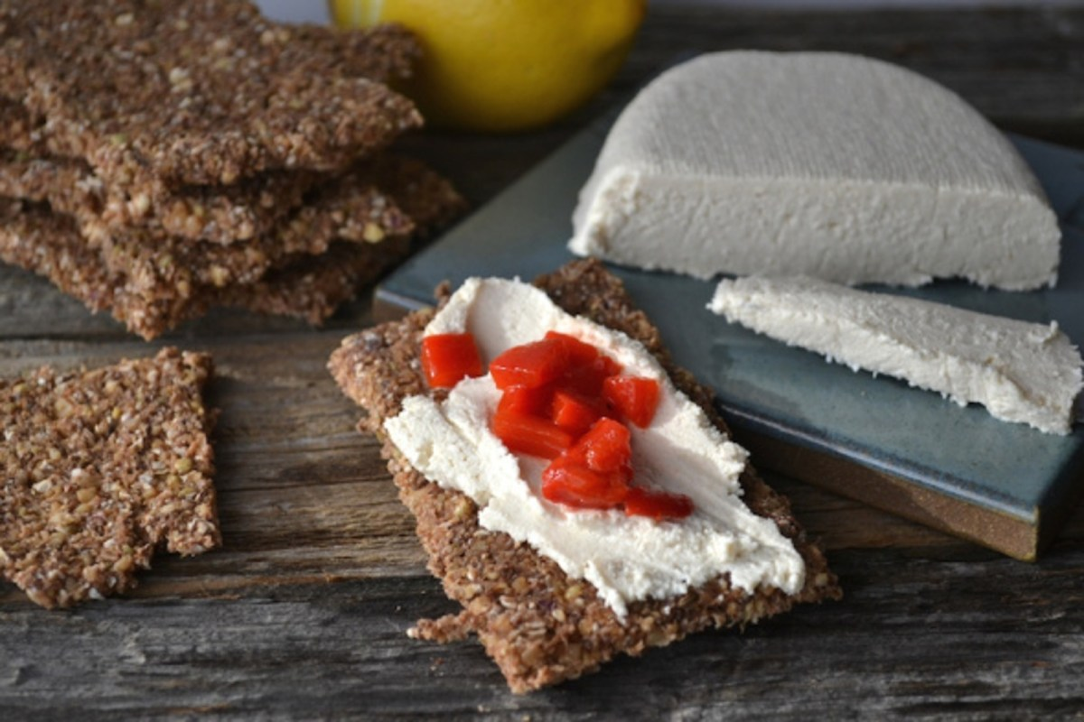 Vegan Cashew Coconut Cream Cheese