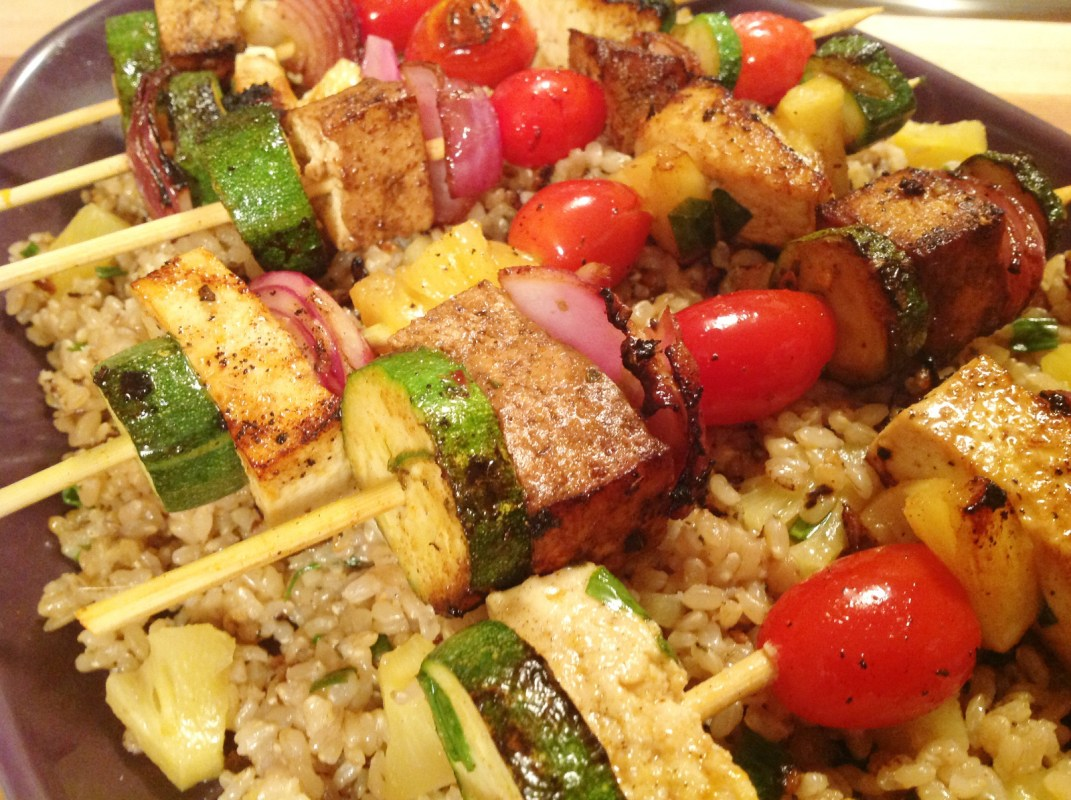 Pineapple Island Kebabs Vegan One Green Planet