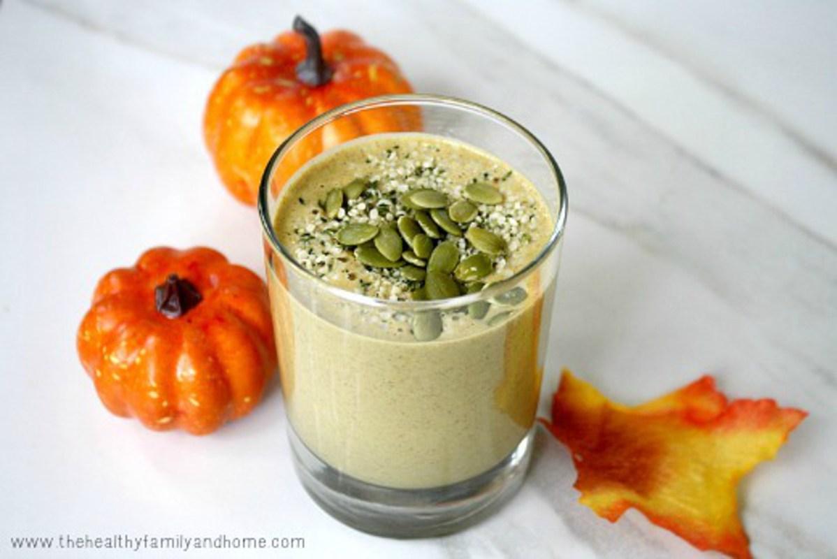 Pumpkin Protein Smoothie [Vegan] - One Green Planet