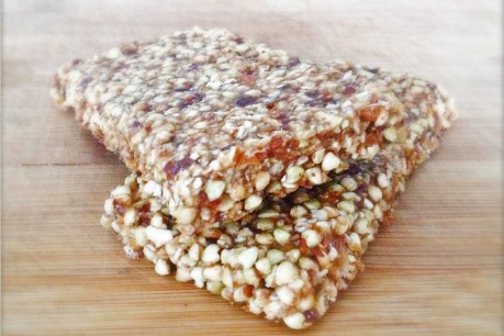Banana Bread Energy Bar [Vegan, Raw]