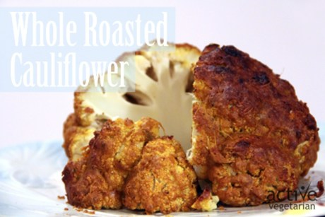 """Cheese"" Whole Roasted Cauliflower [Vegan]"