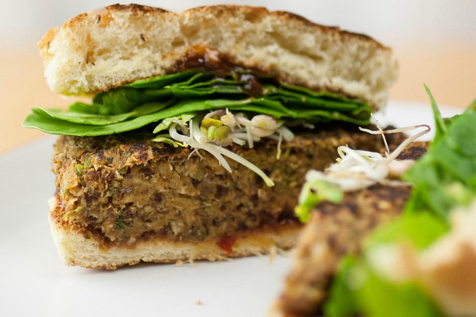 Thai Quinoa Burgers [Vegan, Gluten-Free]