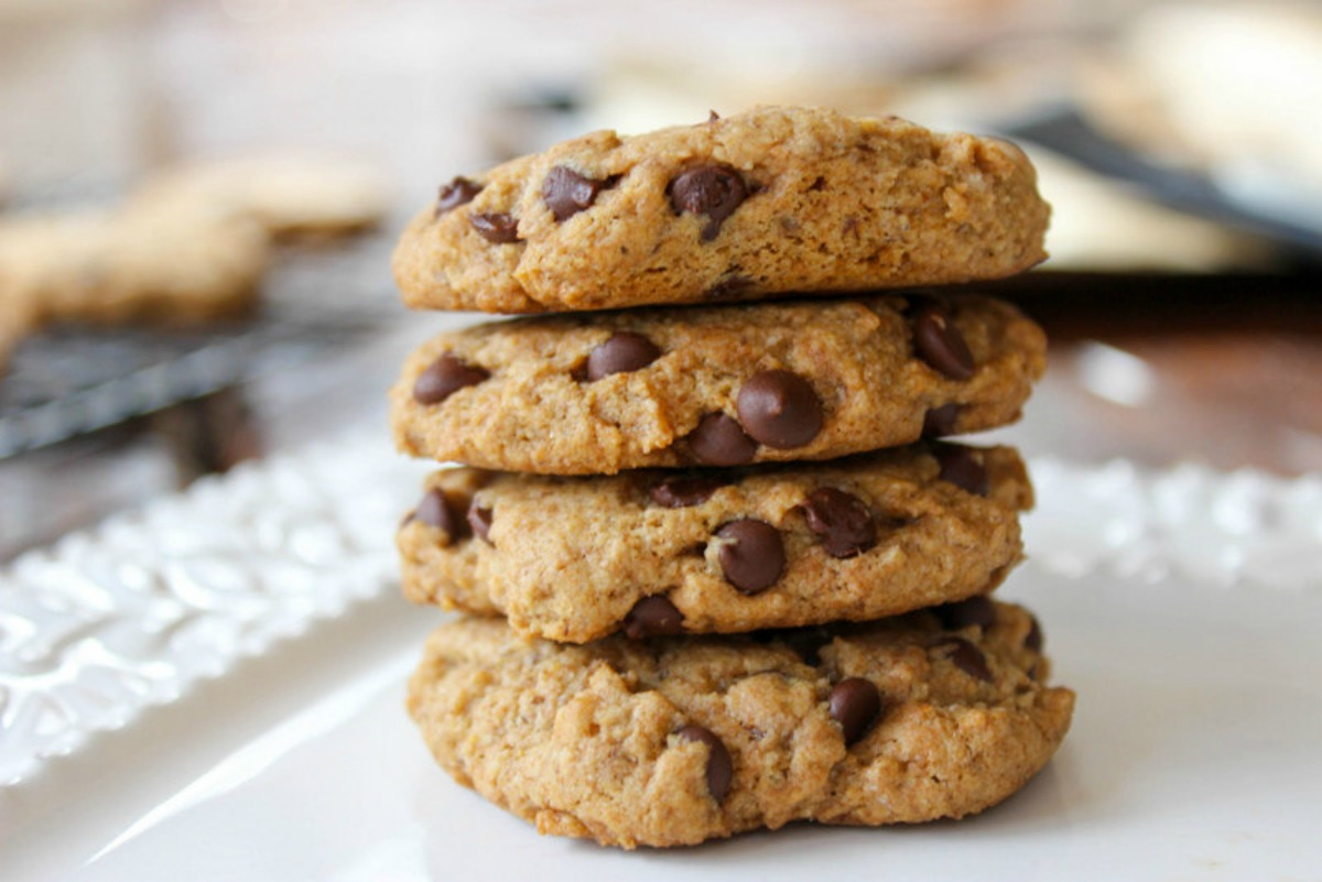 classic chocolate chip cookies vegan
