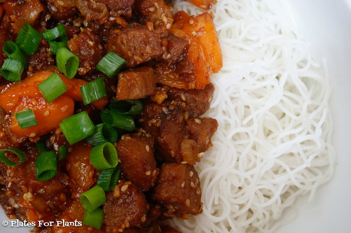 Sweet and Spicy 'Pork'