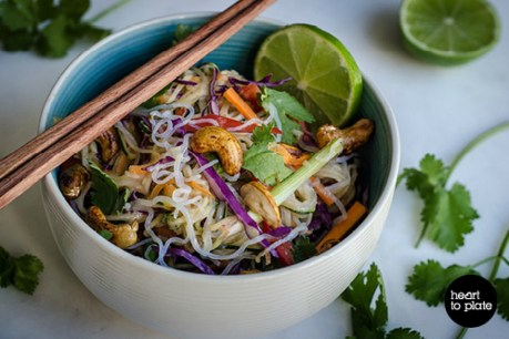 Raw Pad Thai [Vegan, Gluten-Free]