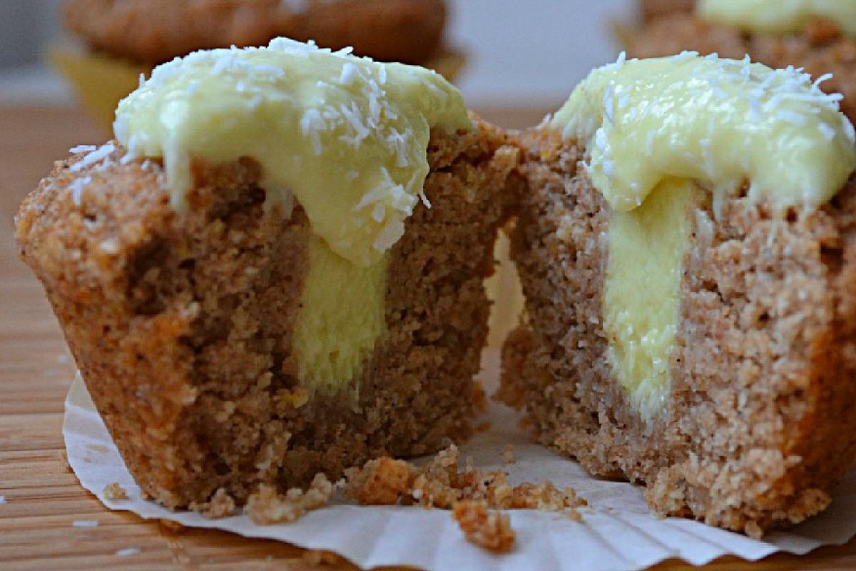 Vegan Lemon Coconut Curd and Cupcakes
