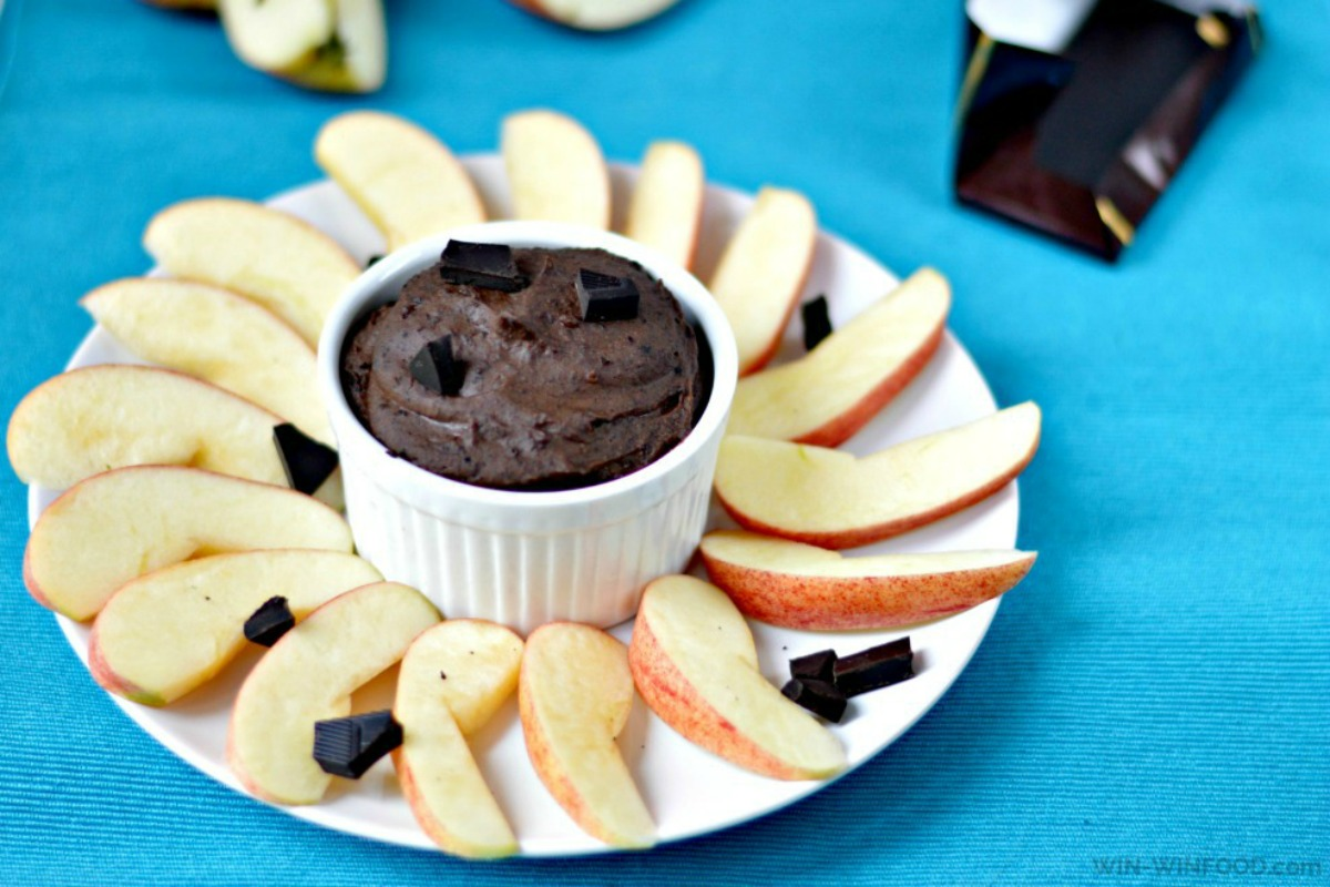 Chocolate Cookie Dough Dip [Vegan, Gluten-Free]
