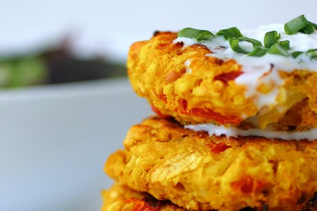 Cauliflower Chickpea Patties [Vegan]