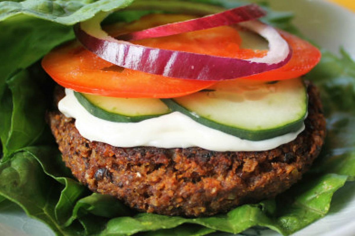 foolproof mega lentil burger