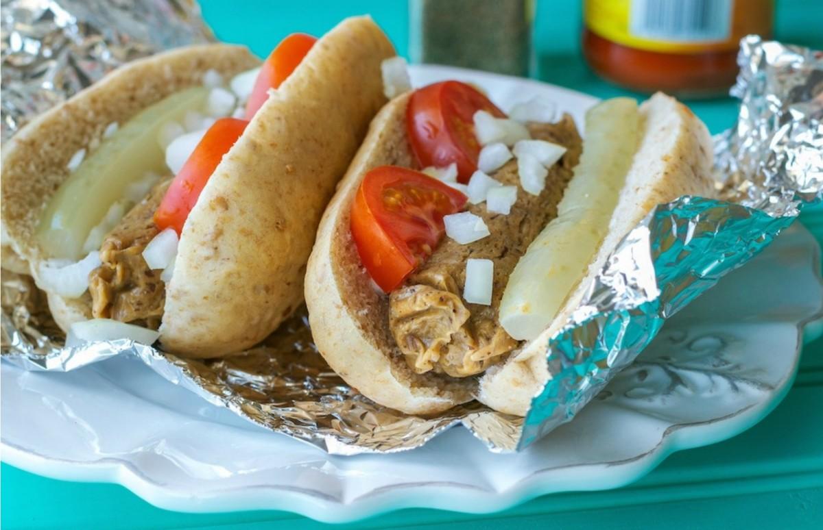 Homemade Meatless Hot Dog Sauce