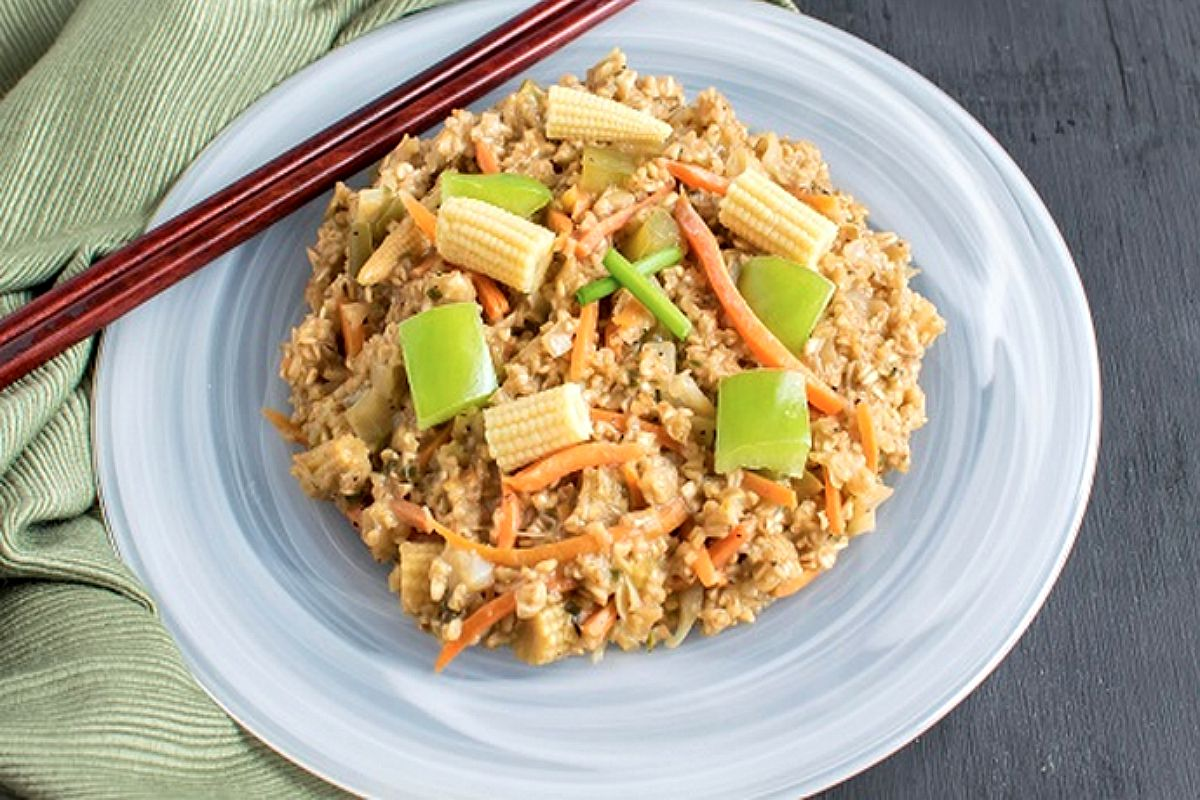 Vegan Chinese Oatmeal
