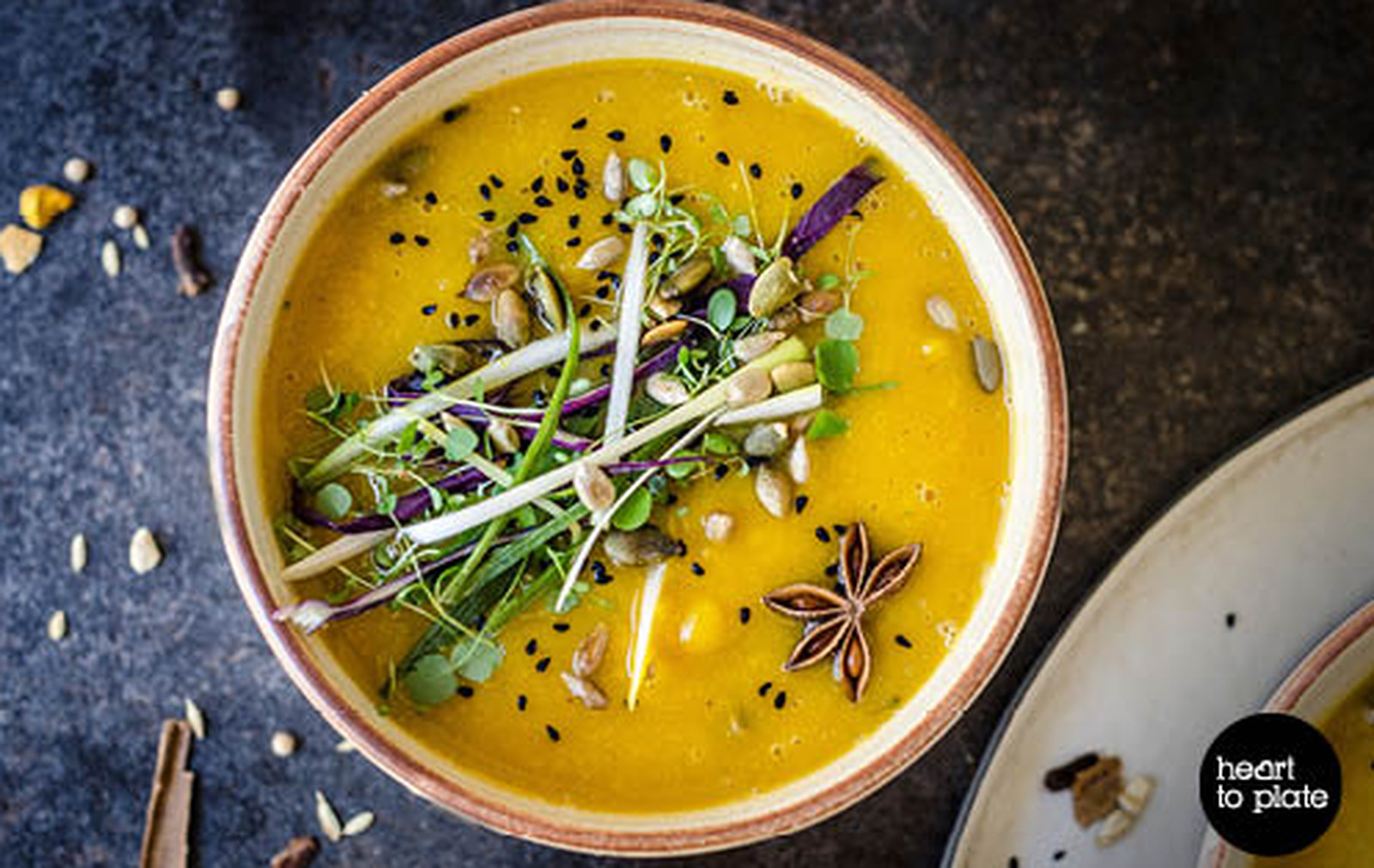 Moroccan Miso, Lentil, and Pumpkin Soup [Vegan, Gluten-Free]