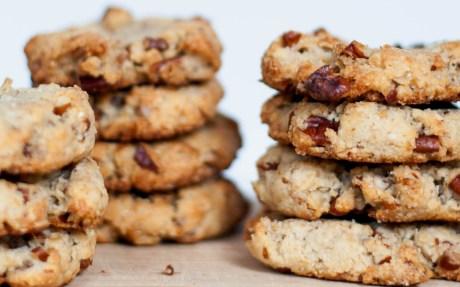 Pecan, Walnut, and Ginger Cookies [Vegan, Gluten-Free]