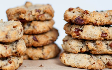 Pecan, Walnut, and Ginger Cookies [Vegan, Gluten-Free]
