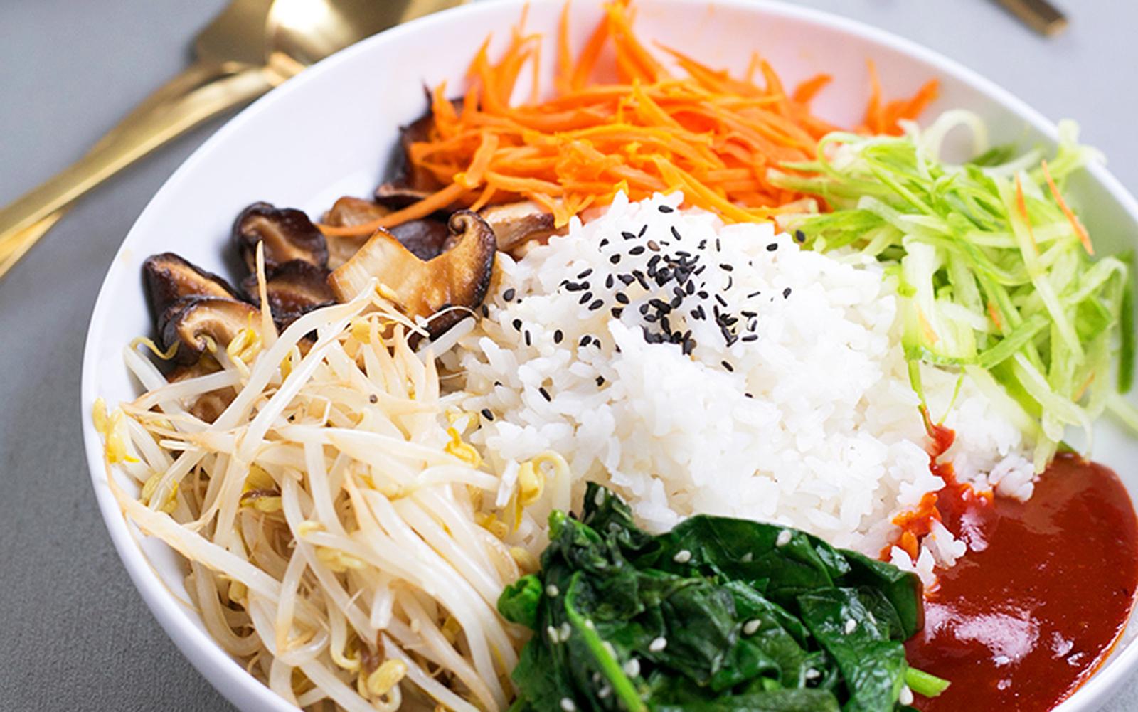 Bangin' Korean Bibimbap [Vegan, Gluten-Free]