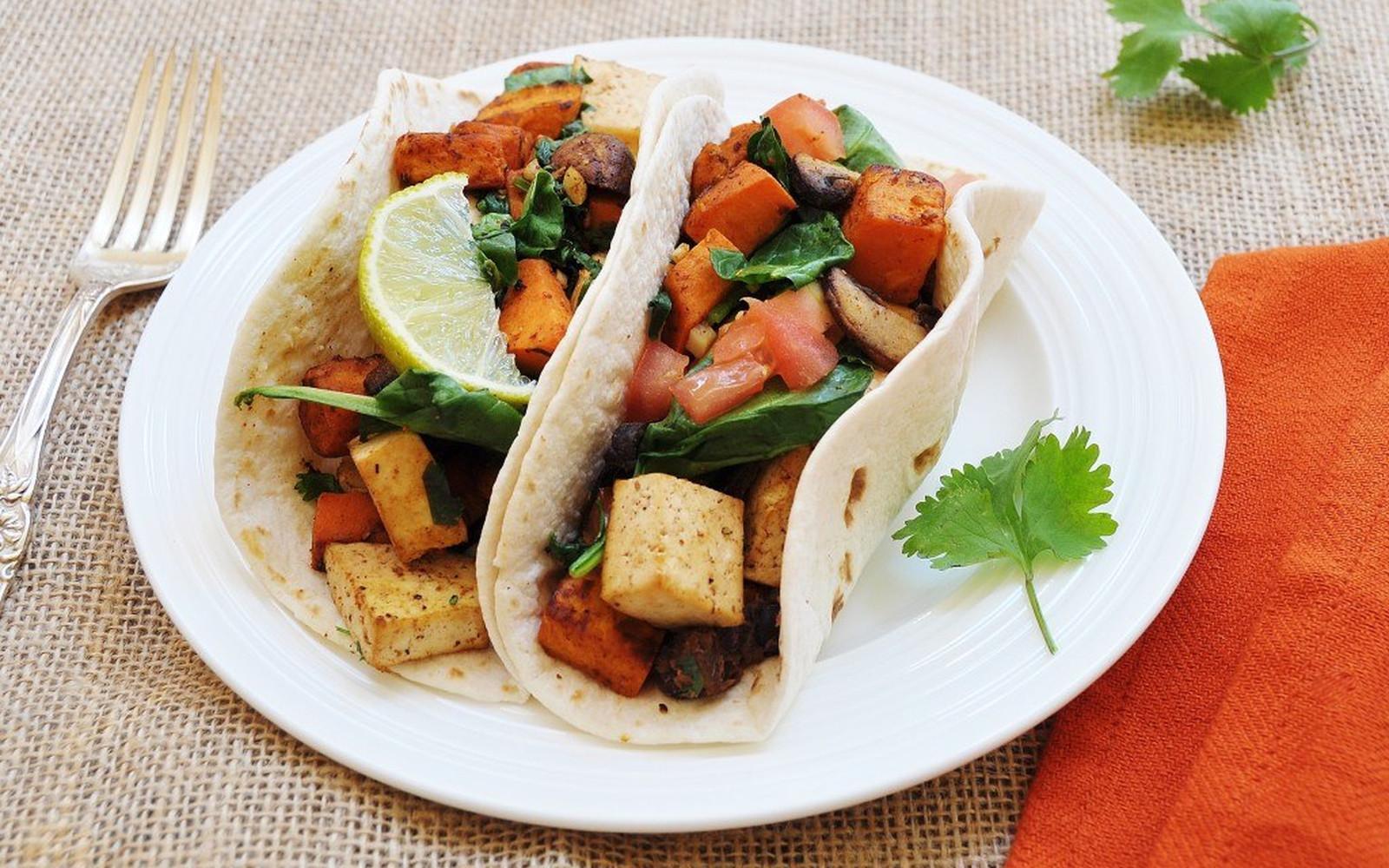 sweet potato tofu black bean tacos