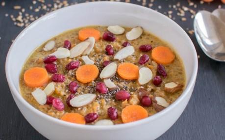 Carrot Bulgar Porridge