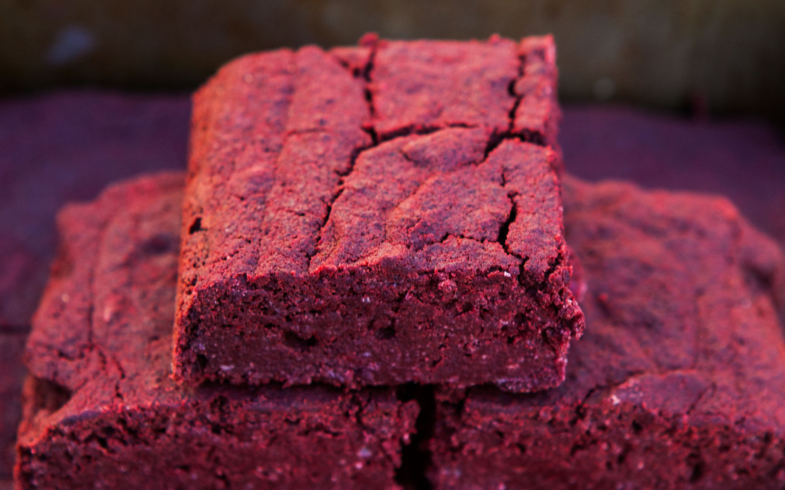 Fudgy Red Velvet Brownies
