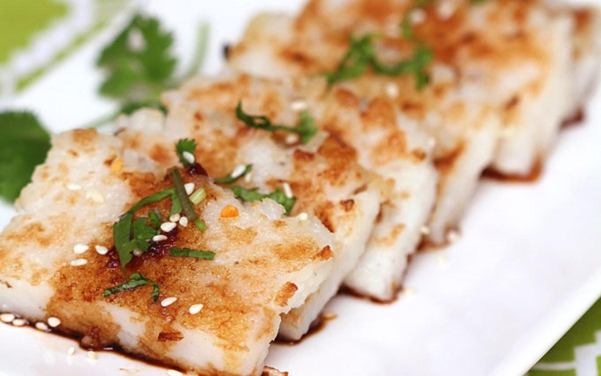 Turnip Cake Recipe Vegan