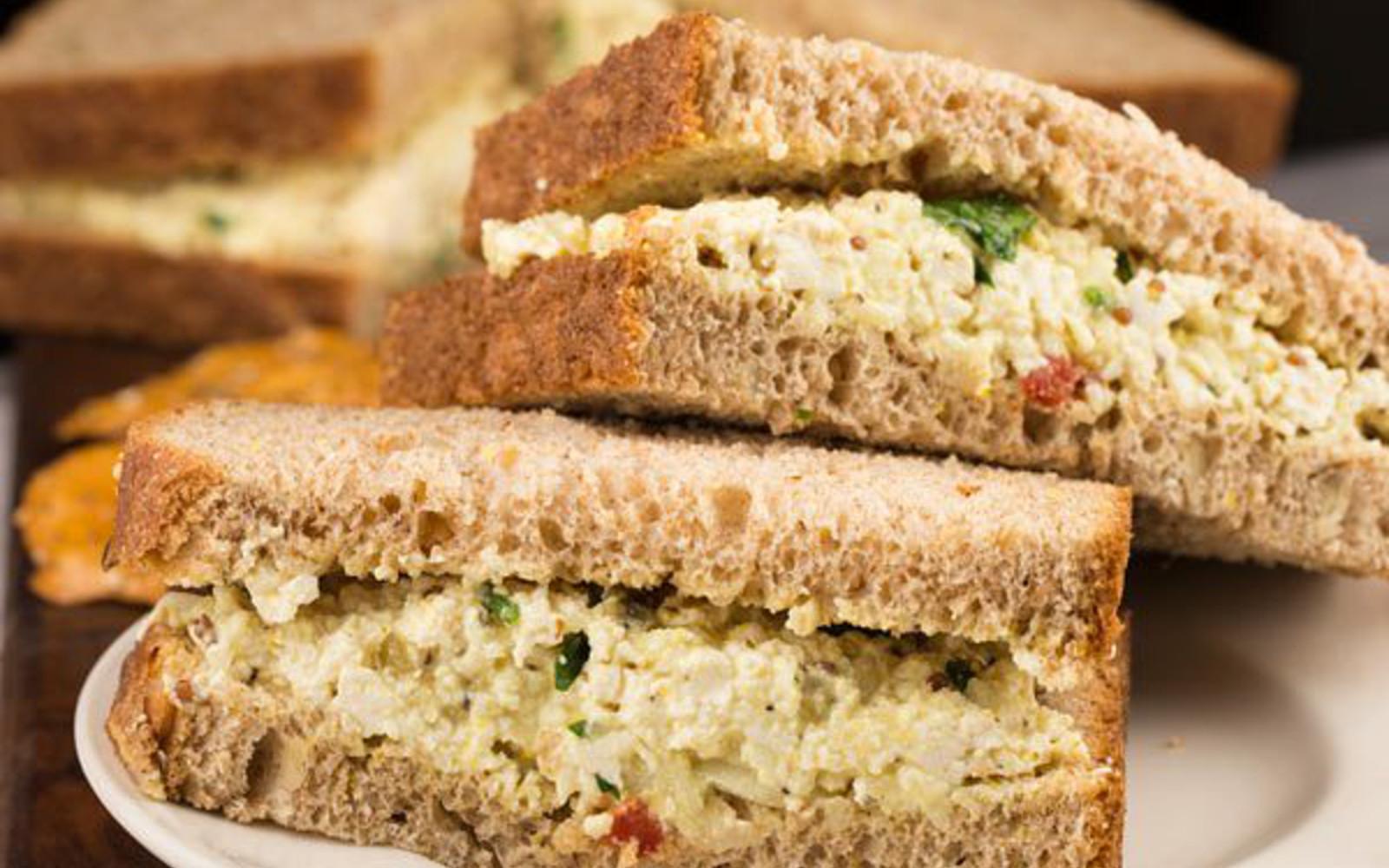 """Egg"" Salad Sandwich"
