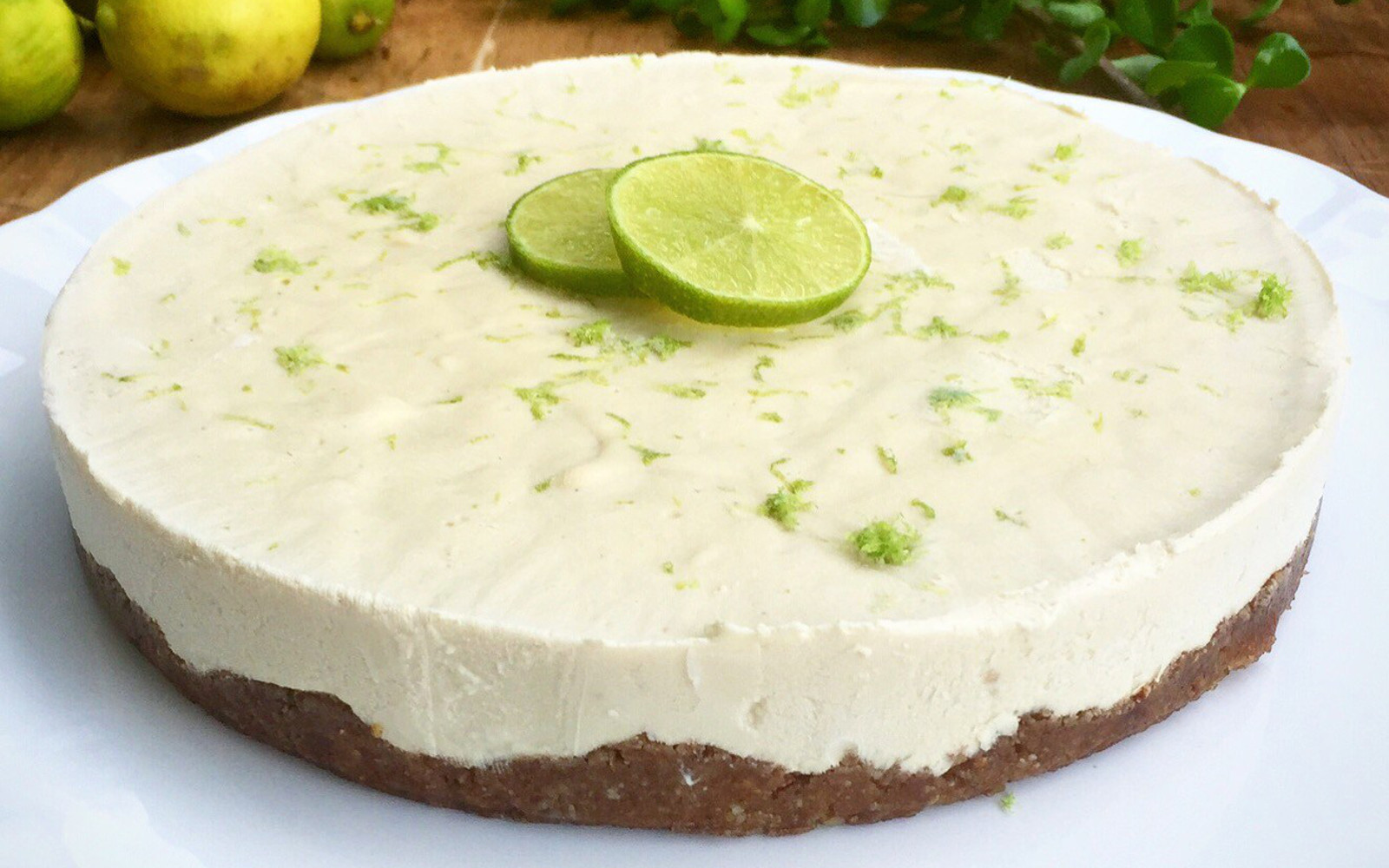Raw Lime Pie