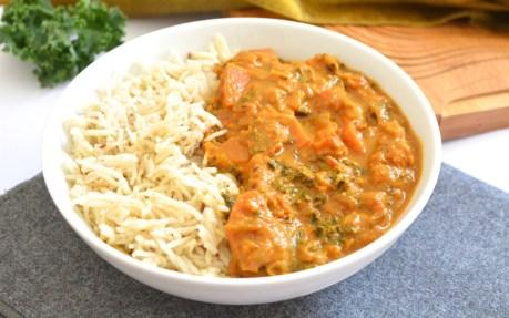 Sweet Potato Kale Curry