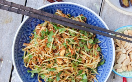 Toasted Coconut and Green Mango Salad