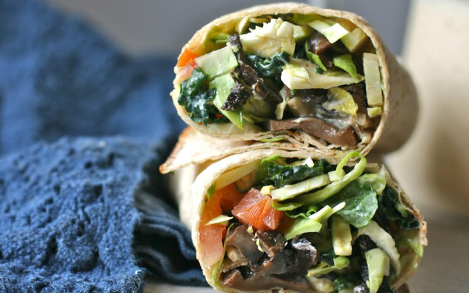 Caesar Salad Wrap Feat