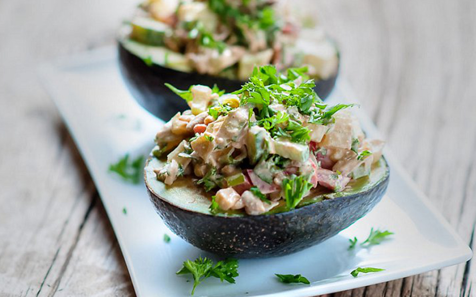 Chipotle Vegetable Stuffed Avocado
