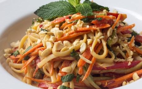 Easy Peanut Noodles 1