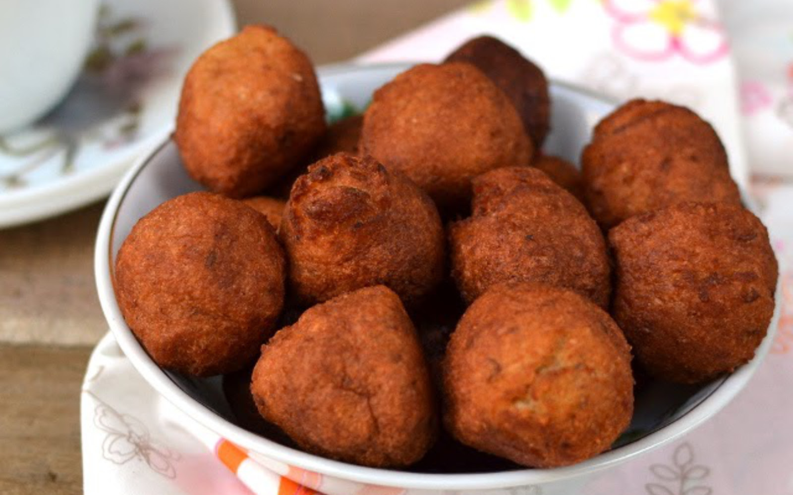 Acaraje Brazilian Black Eyed Peas Fritters