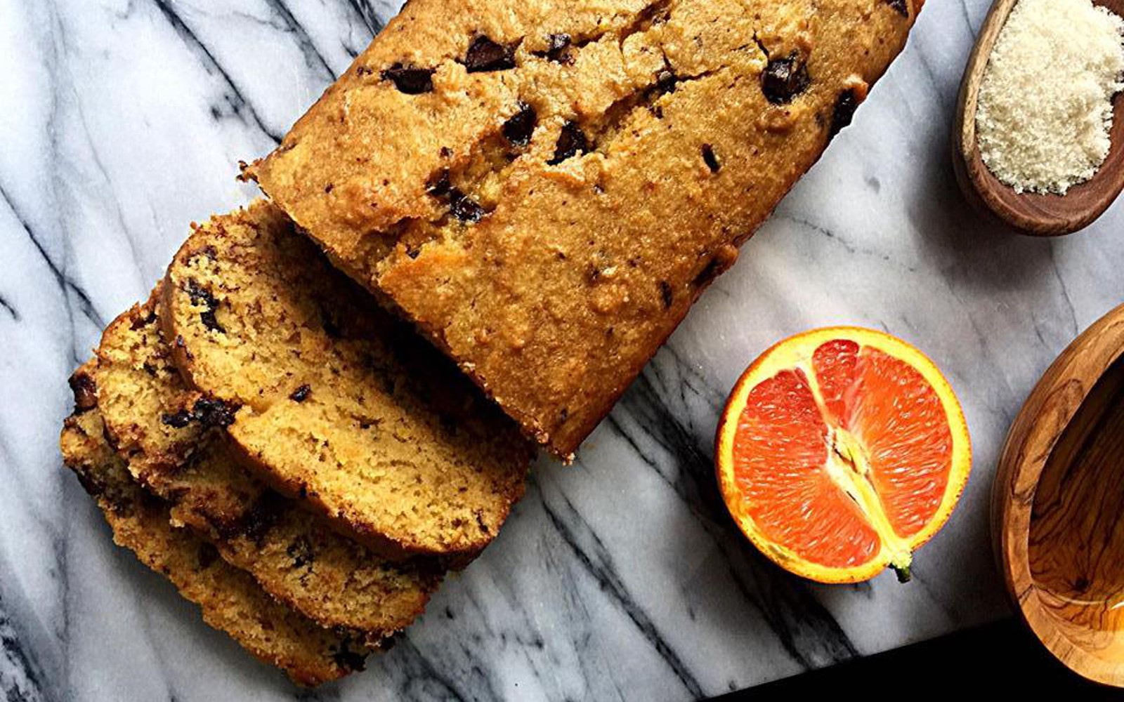 Orange Olive Oil Bread With Chocolate