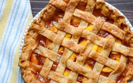 Peach Pie With Lattice Crust 2