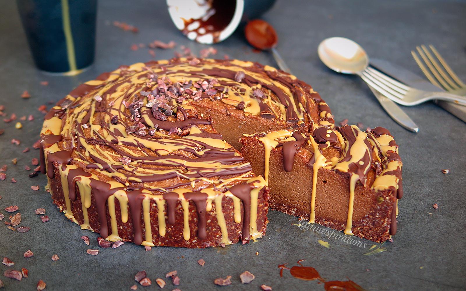 Raw Chocolate Mud Cake