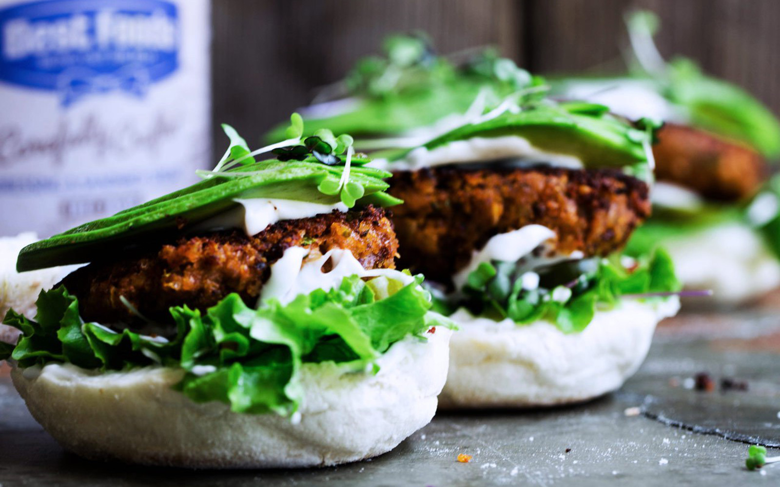 Spicy Lentil Rice Burgers 3