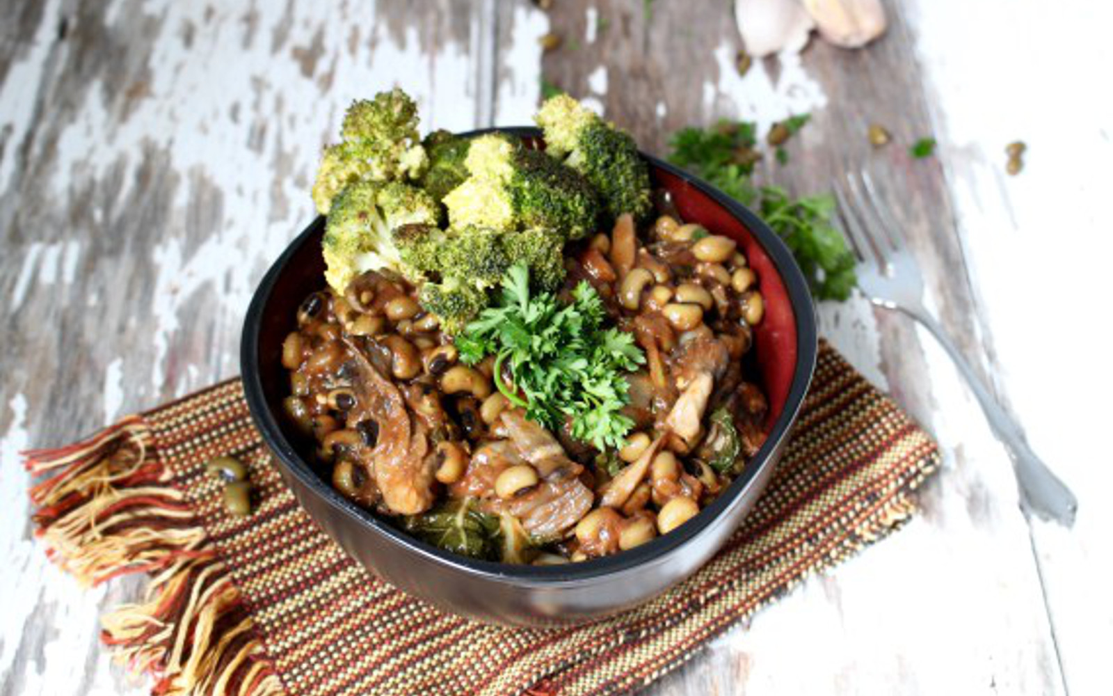 Black Eyed Pea Teriyaki Bowl 4