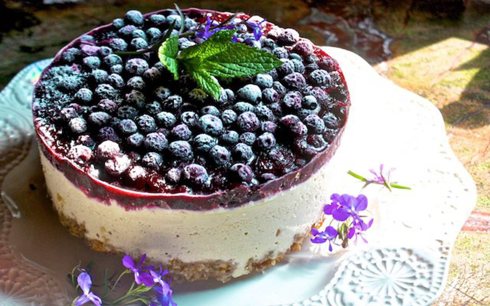 Raw Blueberry Cheesecake 4
